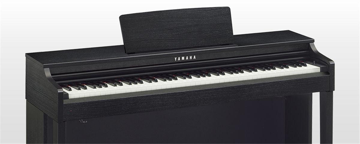 clp 525 technische daten clavinova pianos. Black Bedroom Furniture Sets. Home Design Ideas
