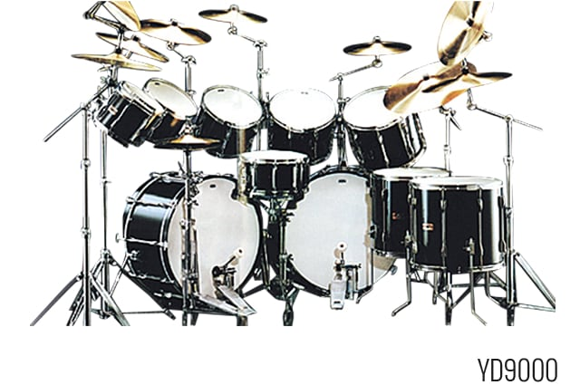 The History Of Yamaha Drums Yamaha Osterreich